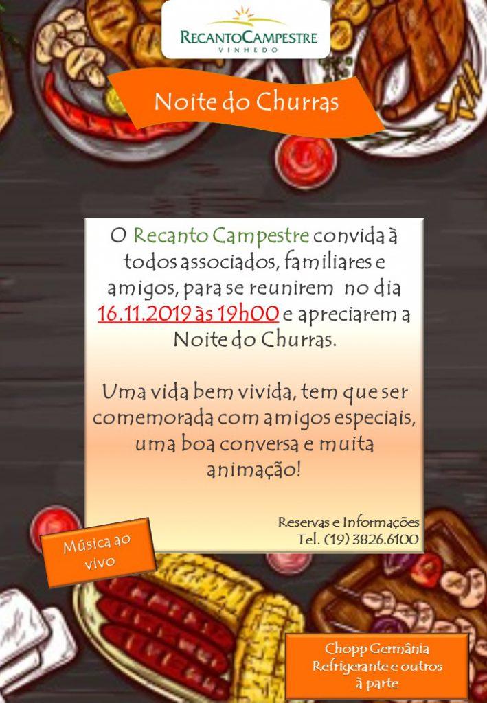 NOITE DO CHURRAS